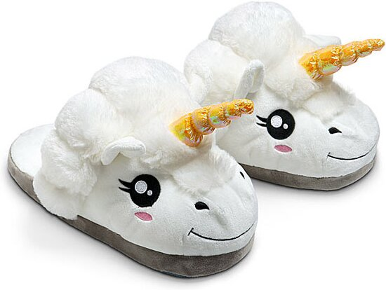 Magical Unicorn Plush Slippers Tofflor