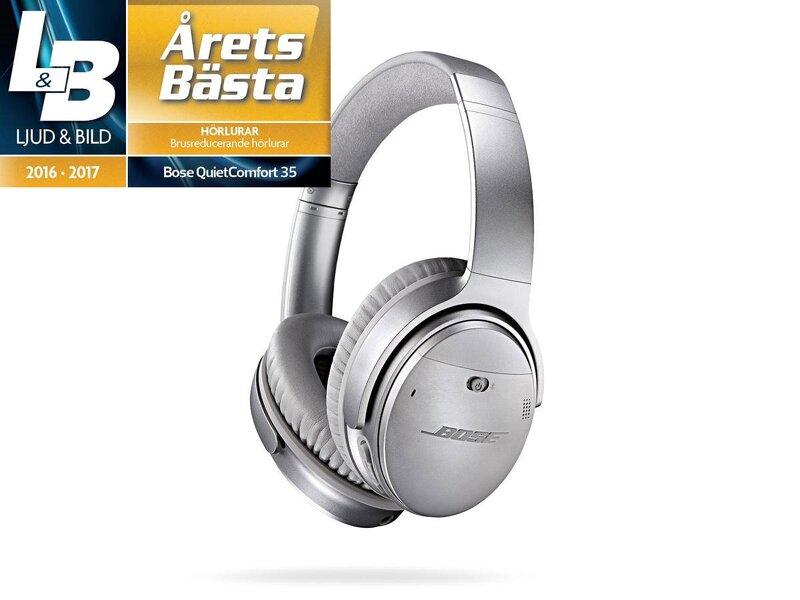 grossistförsäljning bästa sneakers grossisthandlare Bose Quiet Comfort 35 - Wireless / Silver - Hörlurar - Webhallen.com