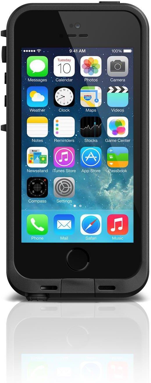 iPhone 5 5S SE   Lifeproof Fre Case - Black V2 - Mobilskal - Webhallen.com d81cbf4276458
