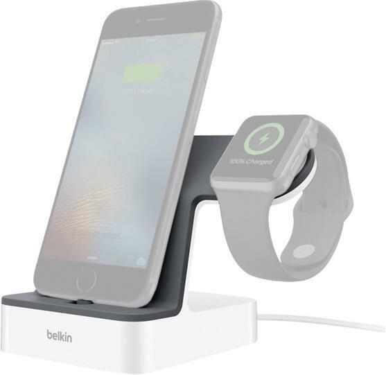 Belkin PowerHouse laddningsdocka till iPhone och Apple Watch Vit