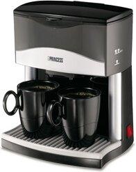 kaffebryggare två koppar